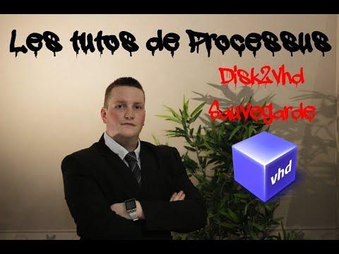 Disk2vhd, une sauvegarde complète et efficace