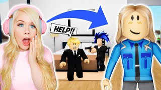 I WAS A POLICE OFFICER IN BROOKHAVEN! (ROBLOX BROOKHAVEN RP)