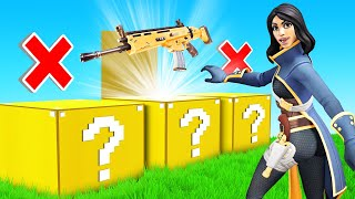 LUCKY BLOCKS for LOOT Minigame in Fortnite Creative!