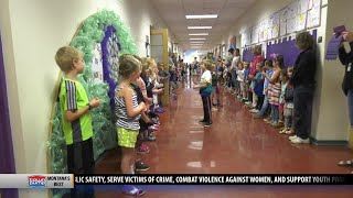 Longfellow Elementary students celebrate International Day of Peace with song