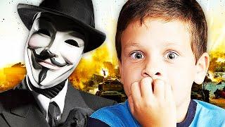 Hacker from 'Anonymous' Scares Squeaker on Advanced Warfare! (Trolling) - LT.LICKME