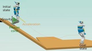 kinodynamic steering method for legged multicontact locomotion