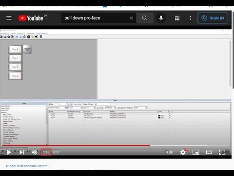 Lær at lave dine egne pulldown menuer i GP-Pro EX