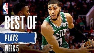 NBA's Best Plays From Week 5 | 2019-20 Season