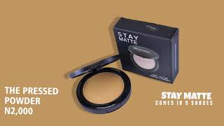 MATTE AND FLAWLESS PRESSED POWDER