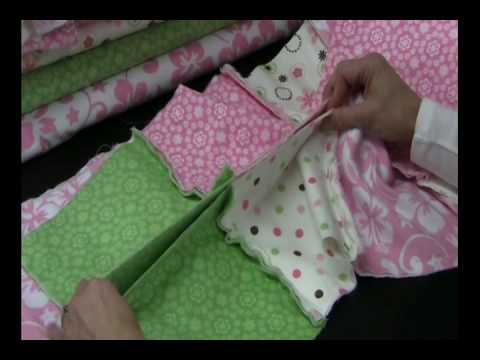Rag Quilt Project : Beverly's How-To