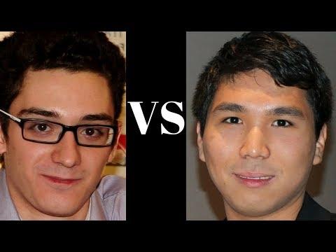 World Chess Candidates 2018 : Fabiano Caruana vs Wesley So : Round 1:  Berlin