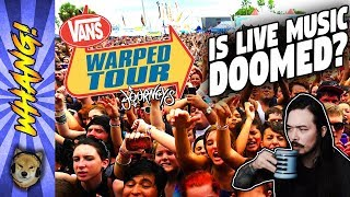 Warped Tour 2018 is the Last Lineup. Is Live Music Doomed?