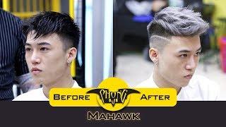 Kiểu tóc nam Faux hawk đẹp nhất 2018 | Phong BvB
