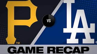 4/26/19: Ryu strikes out 10 to lead Dodgers to win