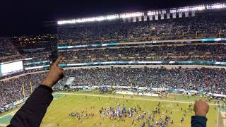 Eagles Fight song after Playoff Win