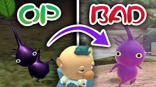 When Purple Pikmin Went From Overpowered To USELESS