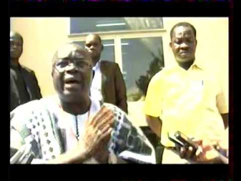 News report: Presentation of the system for election results treatment in Burkina Faso