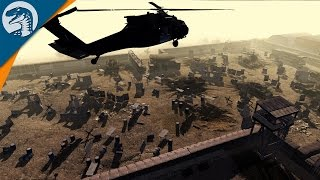 US DEFENDS AFGAN BASE | WW3 MOD | Men of War: Assault Squad 2 [MOD]