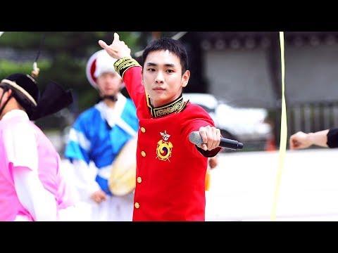 [4K] [FANCAM] 190608 청와대 정례행사 군악대 라라랜드 (샤이니 KEY)