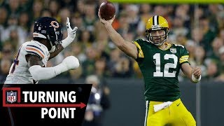 How Rodgers Brought His Team Back From a 17-point Deficit on One Leg in Week 1 | NFL Turning Point