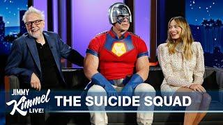 Margot Robbie, John Cena & James Gunn on The Suicide Squad, Margot & John's History & Crazy Stunts