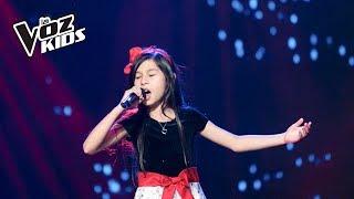 Laura Doria canta Cucurrucucú Paloma - Audiciones a ciegas | La Voz Kids Colombia 2018