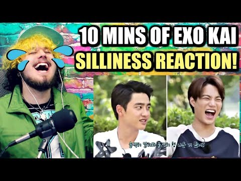 10 MINUTES OF EXO KAI'S SILLINESS | HIS LAUGH IS EVERYTHING! | REACTION!!