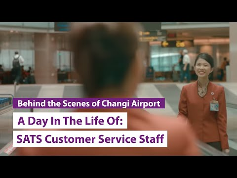 A Day In The Life Of: SATS Customer Service Staff
