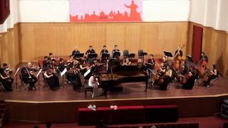 W.A. Mozart Concerto no 9 in E flat Major , K. 271, 'Jeunehomme' - Nguyen Lan Anh