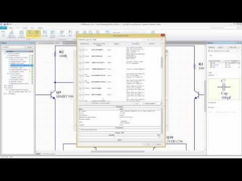 SOLIDWORK PCB - Streamlined Schematic Editor