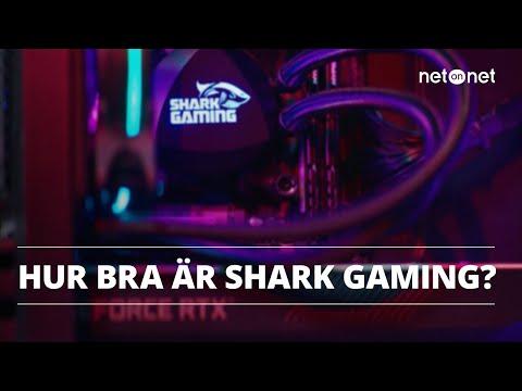 Grymma gamingdatorer från Shark Gaming   NetOnNet Klubbhyllan
