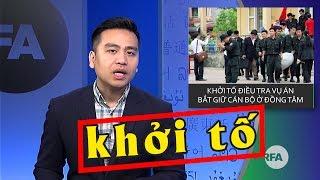 Vụ Đồng Tâm bị khởi tố điều tra, Nguyễn Đức Chung bị chơi khăm hay bản chất của loài Cs?
