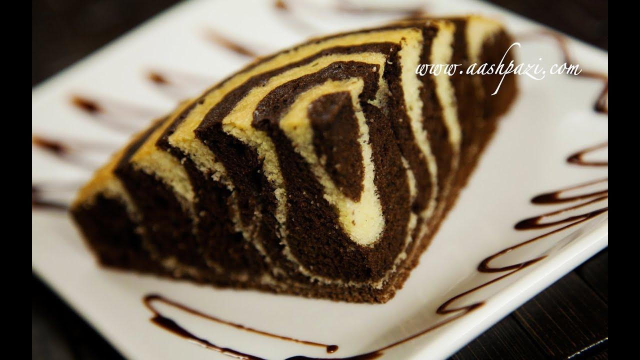 Zebra Cake Recipe Pastry Youtube