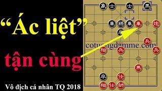 Ván cờ ác liệt đến nghẹt thở tại giải vô địch cờ tướng cá nhân Trung Quốc 2018