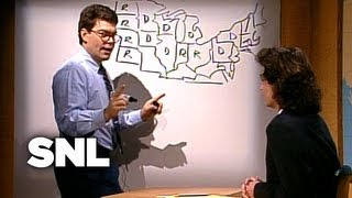 Al Franken's Electoral Map - Saturday Night Live