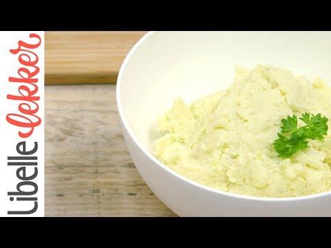Aardappel puree maken