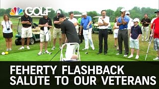 Feherty 'Flashback' - Salute To Our Veterans | Golf Channel