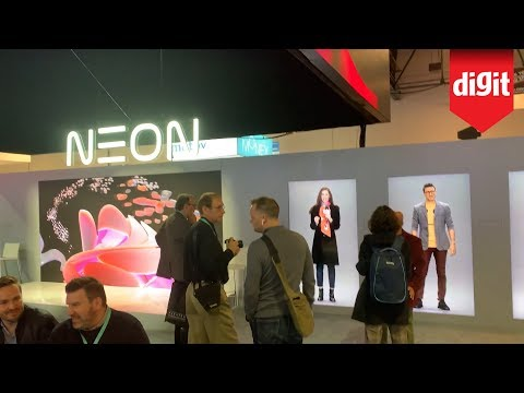 Digital Humanoid AI Chatbots - See What Samsung Neon Humans Look Like