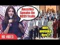 Anushka Sharma Reply On BCCI Twitter TROLLS..