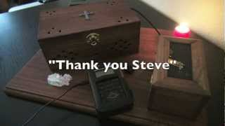 """Spirit Box and EVP Sessions - """"Can You Give Me A Hand""""  - my best ever session!"""