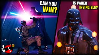Can you defeat DARTH VADER in Jedi Fallen Order?