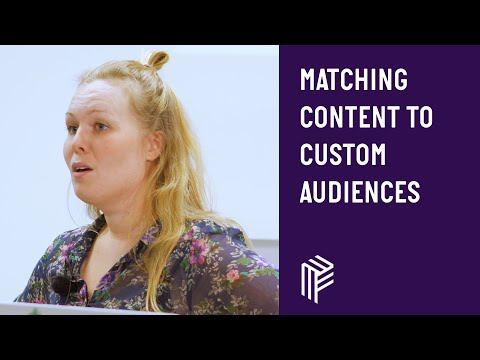 Matching Content to Custom Audiences - Contentful Developers - October 2018