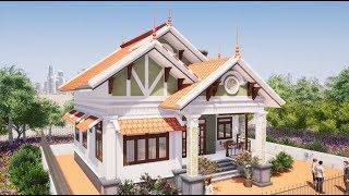 Mẫu Nhà Cấp 4 Đẹp 4 Phòng Ngủ 140m2 Tại Phù Ninh Phú Thọ