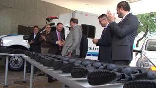 Susepe recebe 525 novas armas e quatro novas viaturas