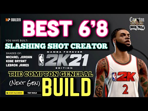 BEST SLASHING SHOT CREATOR BUILD IN NBA 2K21🔥 MICHAEL JORDAN BUILD🔥😱 99 OVR DEMIGOD   NEXT GEN