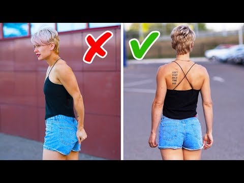 25 BRILLIANT CLOTHING HACKS EVERY GIRL NEEDS TO KNOW