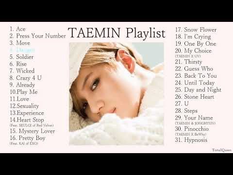 TAEMIN Playlist (SHINee's 이태민 Korean Songs Collection)