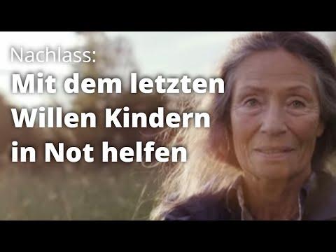 TV-Spot: Mit dem Erbe Kindern in Not helfen