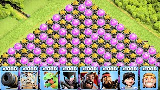 The Most Satisfying  Funny Video Ever In Clash Of Clans Private Server #2