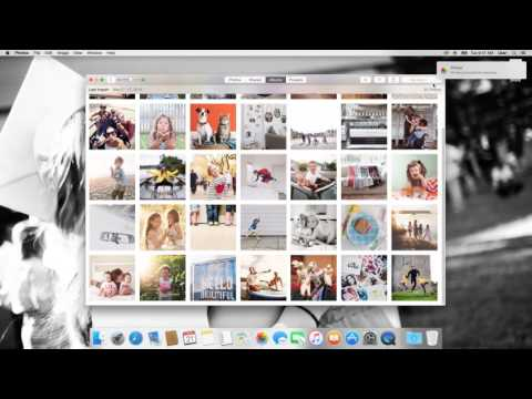 Importing and Organizing Photos on a Mac
