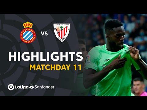 ⚽ HIGHLIGHTS I RCD Espanyol 1-1 Athletic Club I LaLiga Matchday 11