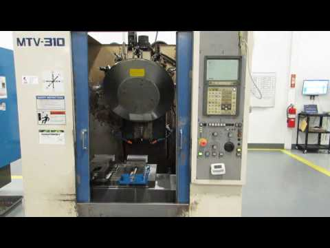 Miyano MTV-310 CNC Vertical Machining Center - Online Auction at www.machinesused.com
