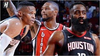 Portland Trail Blazers vs Houston Rockets - Full Game Highlights | November 18, 2019 NBA Season