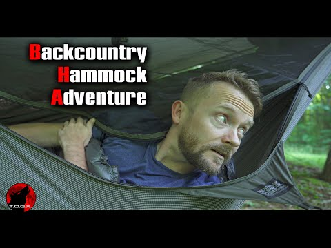 Hammock Camping in the Backcountry - Backpacking Adventure